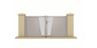 Alu vrata Origami
